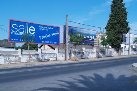 Publicidad en vallas publicitarias Córdoba